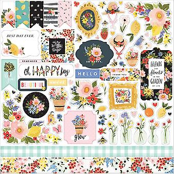 Carta Bella Oh Happy Day 12x12 Inch Element Sticker