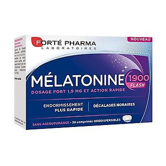 الميلاتونين فلاش 1900 30 أقراص (الفانيليا)