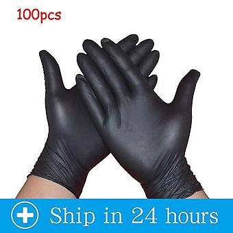 Transparent Disposable PVC Dishwashing/Kitchen /Latex/Rubber/Garden Household Gloves Universal For Home Cleaning