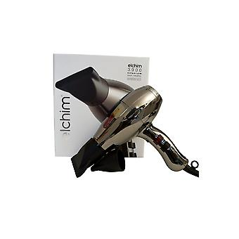 Elchim 3900 Titan Ionic keramisk Hair Dryer Titanium Edition