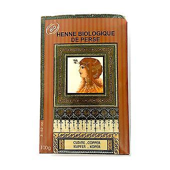 Organic Copper Henna 100 g of powder (Copper)