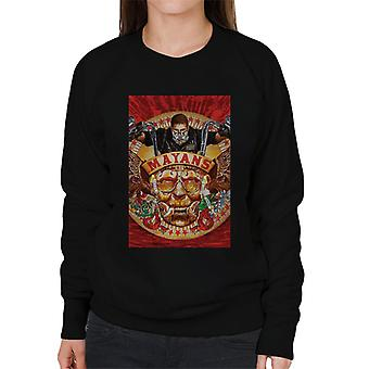 Mayans M.C. Motorcycle Club George Yepes Poster Artwork Women's Sweatshirt