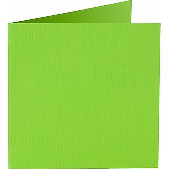 Papicolor 6X Dubbele Kaart 132X132mm Lente Groen