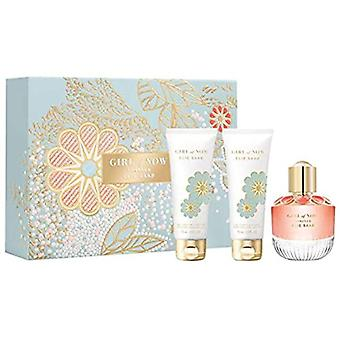 Elie Saab Girl Of Now Forever Gift Set 50ml EDP + 75ml Douche Gel + 75ml Body Lotion