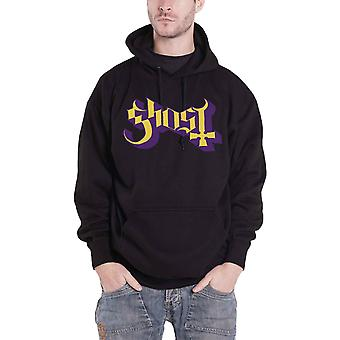 Ghost Hoodie Blessed Band Logo Back Print new Official Mens Black Pullover