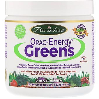 Paradise Herbs, ORAC-Energy Greens, 6.4 oz (182 g)