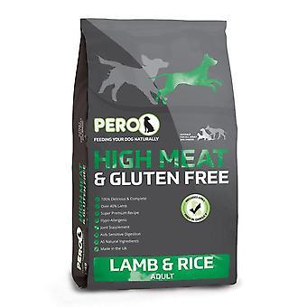 Pero High Meat Lamb & Rice - 12kg