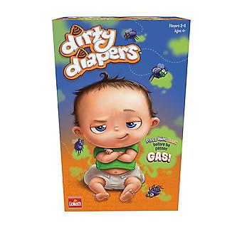 Games - Pressman Toy - Dirty Diapers New 8565