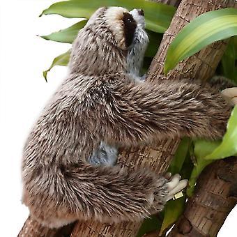 Three Toed Cuddly Lying Animals - Cute Soft Plush Sloth Critters  Children Birthday Gifts