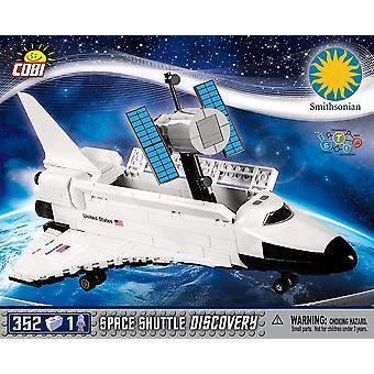 Cobi Smithsonian Space Shuttle Discovery Gift Blocks Cărămizi 352 Bucată Compatibil Varsta 6 +