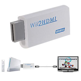 Wii To Hdmi 1080p Upscaling Converter Wii2hdmi Adapter Converters For Full Hd Output Upscaling 3.5mm Audio Video Output