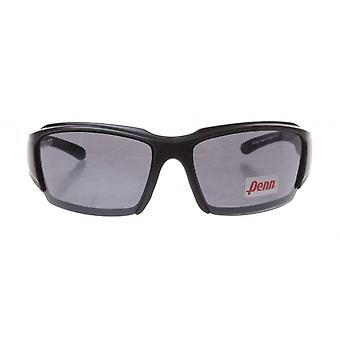 sportzonnebril unisex donkergrijs met grijze lens