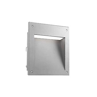 Leds-C4 Micenas - Outdoor LED Einbauwand Licht Micenas LED Grau 25cm 1862lm 3000K IP65