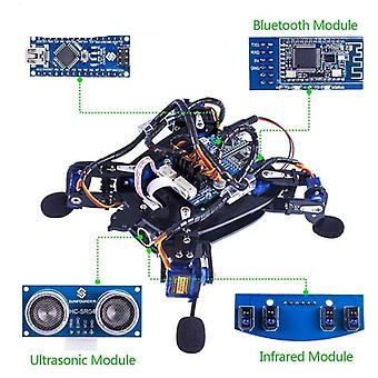 Rollflash Bionic Robot Turtle Avec App Control Toy Kit For Obstacle Avoidance