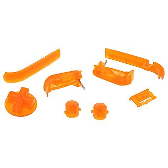 Zedlabz replacement button set for nintendo game boy advance gba agb-001 - transparent orange