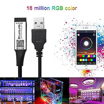 Smart Rgb Bluetooth Timer, Suitable Led Controller Usb For 5v, 3528, 5050 Rgb