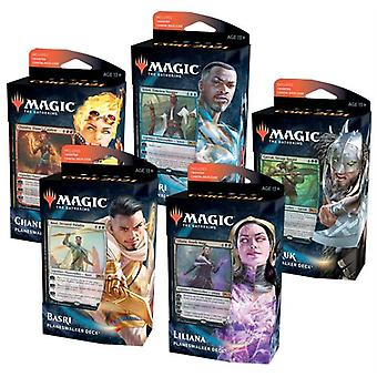 Magic The Gathering - 2021 Core Set Planeswalker Deck Display (Pack of 10)