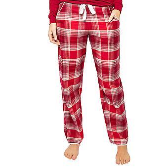 Cyberjammies Megan 4607 Women's Red Mix Check Pyjama Pant