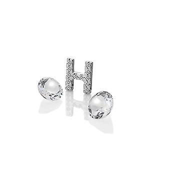 Anais hete diamanten Anais sterling zilver H charme AC076