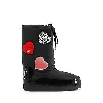 الحب موسكينو - الأحذية - الأحذية - JA24062G1BIU_2000 - السيدات - أسود، أحمر - الاتحاد الأوروبي 41-42
