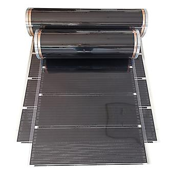 220v 220w 50cm-8meters Width Healthy Floor Heating Infrared Underfloor Carbon Film Electric Warming Mat