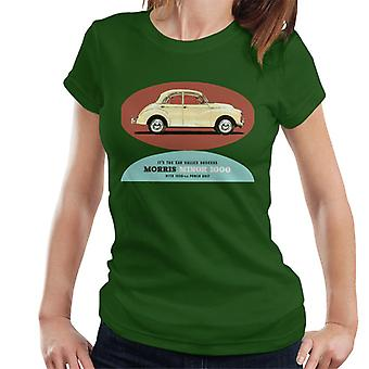 Morris Minor 1000 Its The Car Called Success British Motor Heritage Women's T-Shirt