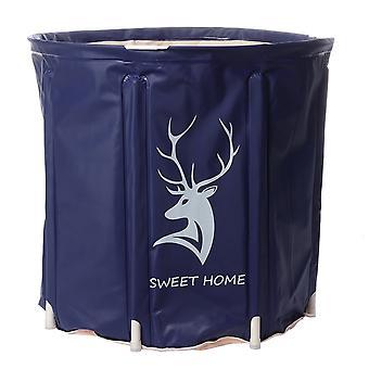 Portable foldable bathtub water barrel pvc soaking barrel spa bucket