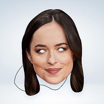 Mask-arade Dakota Johnson Kjendiser Party Ansiktsmaske