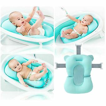 Portable Baby Bath Tub, Anti-slip Sponge Foam Pad, Safety Enough Security Soft