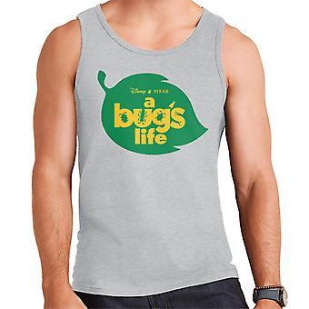 Pixar En Bug's Life Leaf Logo Män's Väst