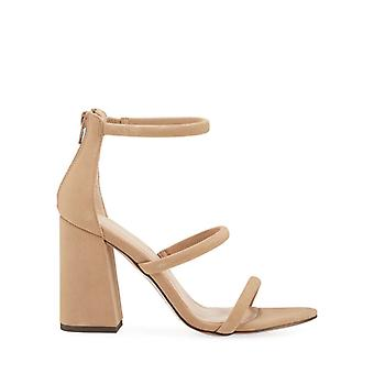 BCBGeneration Womens Rain Fabric Open Toe Casual Ankle Strap Sandals