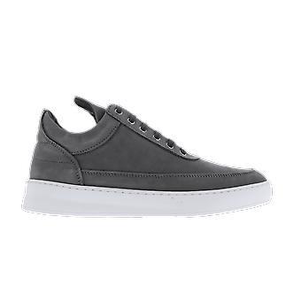 Filling Pieces Low Top Plain Lane Nubuck Grey 29726291874DARK  shoe
