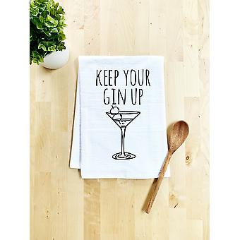 Keep Your Gin Up Dish Towel