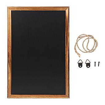 Rectangle Hanging Wooden Blackboard