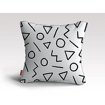 Szczęśliwy wzór 3 poduszka/ poduszka