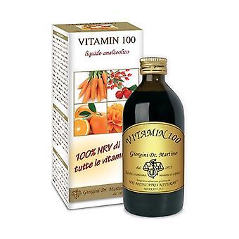 VITAMINE 100 VLOEIBARE ANALC200ML 200 ml