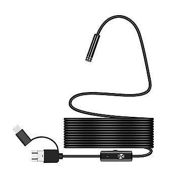 Endoscope Camera Flexible Usb Borescope Waterproof Inspection Borescope Camera