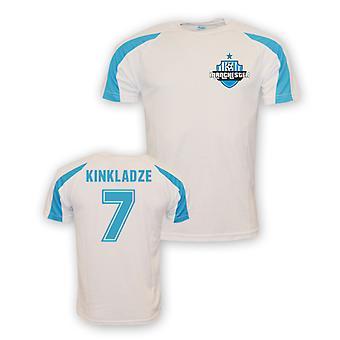 Georgi Kinkladze Man City Sports Training Jersey (white) - Kids