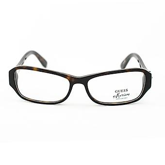 Ladies'Spectacle frame Guess Marciano GM108-TO Black (ø 54 mm)
