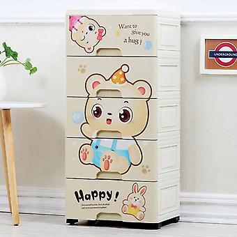 Cartoon's Wardrobe Drawer, Receipt Cabinet, Storage Box