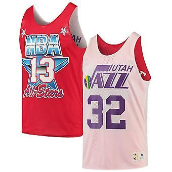 Mitchell & Ness Reversible Utah Jazz Karl Malone Tank Top ASGWHSC1