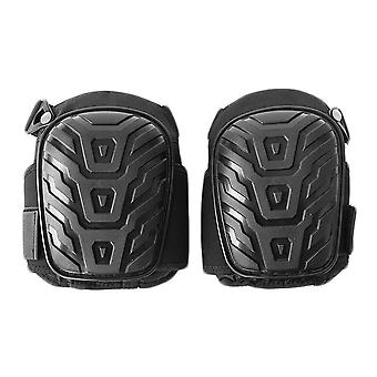 1 Pair/set Professional Knee Pads With Adjustable Straps Safe Eva Gel Cushion