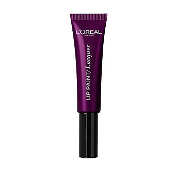 L'Oreal Paris Infallible Lacquer Lip Paint - 111 Purple Panic