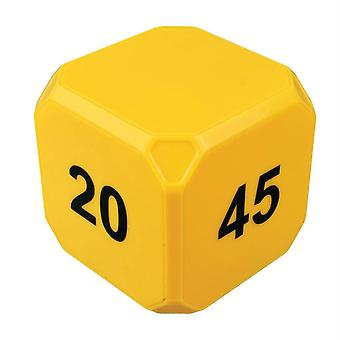 Timecube Plus 5-10-20-45 Minute Preset Timer- Yellow