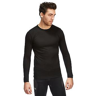 New Peter Storm Men's Long Sleeve Thermal Crew Base Layer Top Black