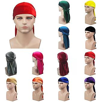 Durag Hip Hop Turban Unisex Breathable Bandana Hat