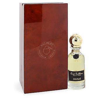 Nicolai Oud Sublime Elixir De Parfum By Nicolai 1.18 oz Elixir De Parfum