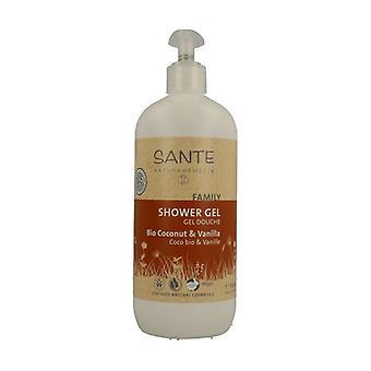 Coco and Vanilla organic shower gel 500 ml of gel