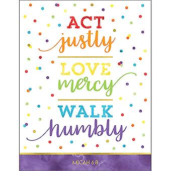 Act Justly Love Mercy Walk Humblement Graphique