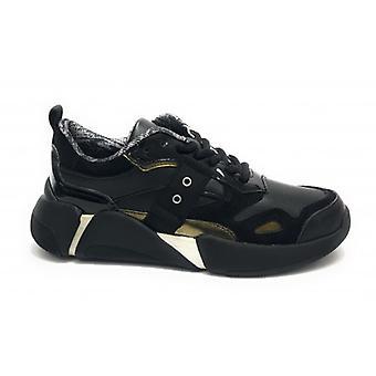 Shoes Blauer Sneaker Running Mod. Monroe Leather Black D20bu02